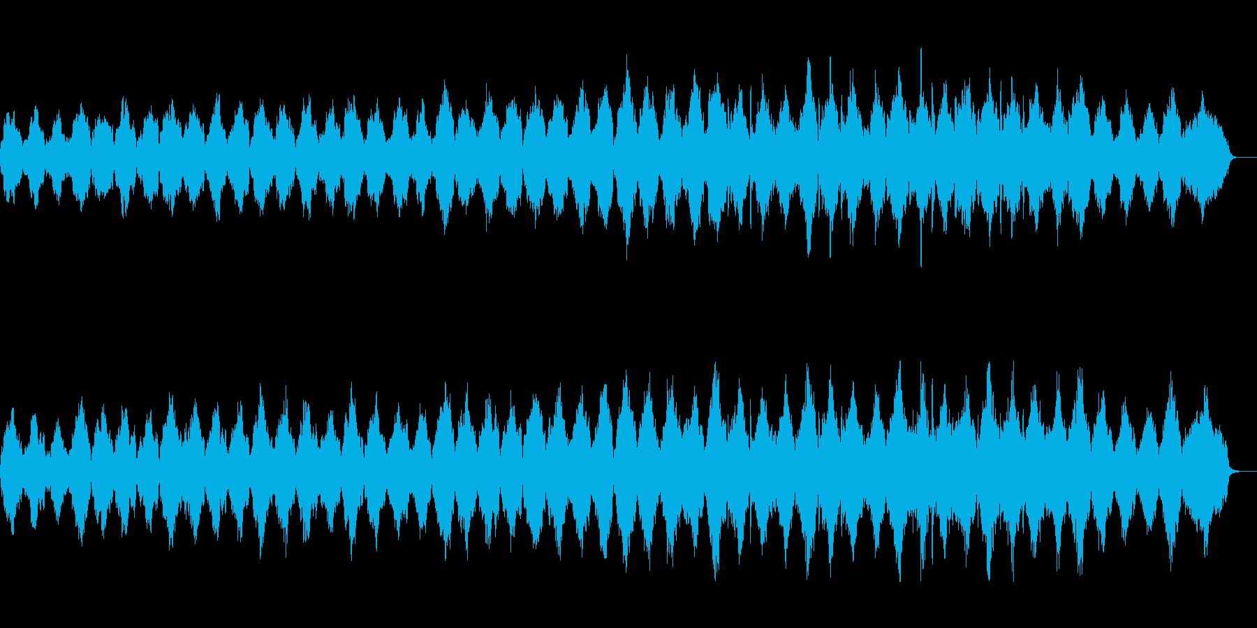 ホルン等を使用したミニマルなアンビエントの再生済みの波形