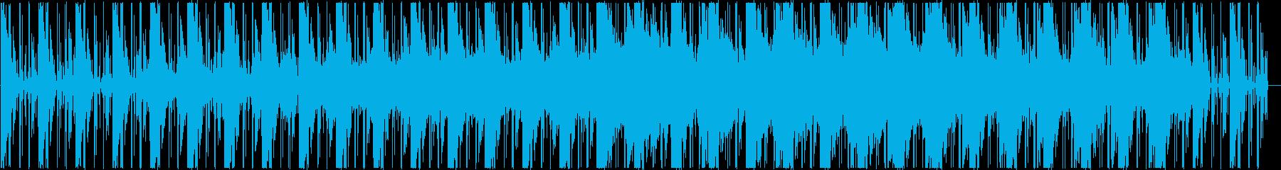 幻想的、神秘的なアンビエントの再生済みの波形