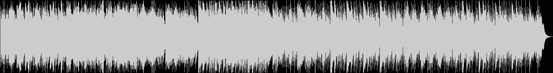 優しいハープのヒーリング曲の未再生の波形