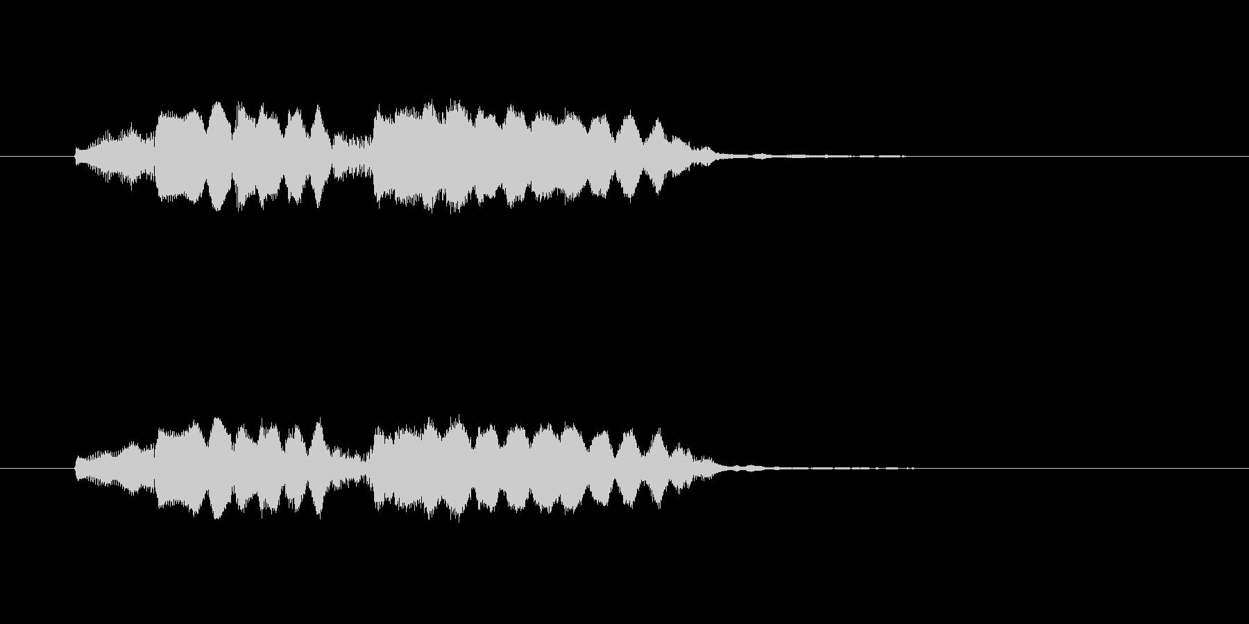 フォロロッロ~(爽やかなフルート)の未再生の波形