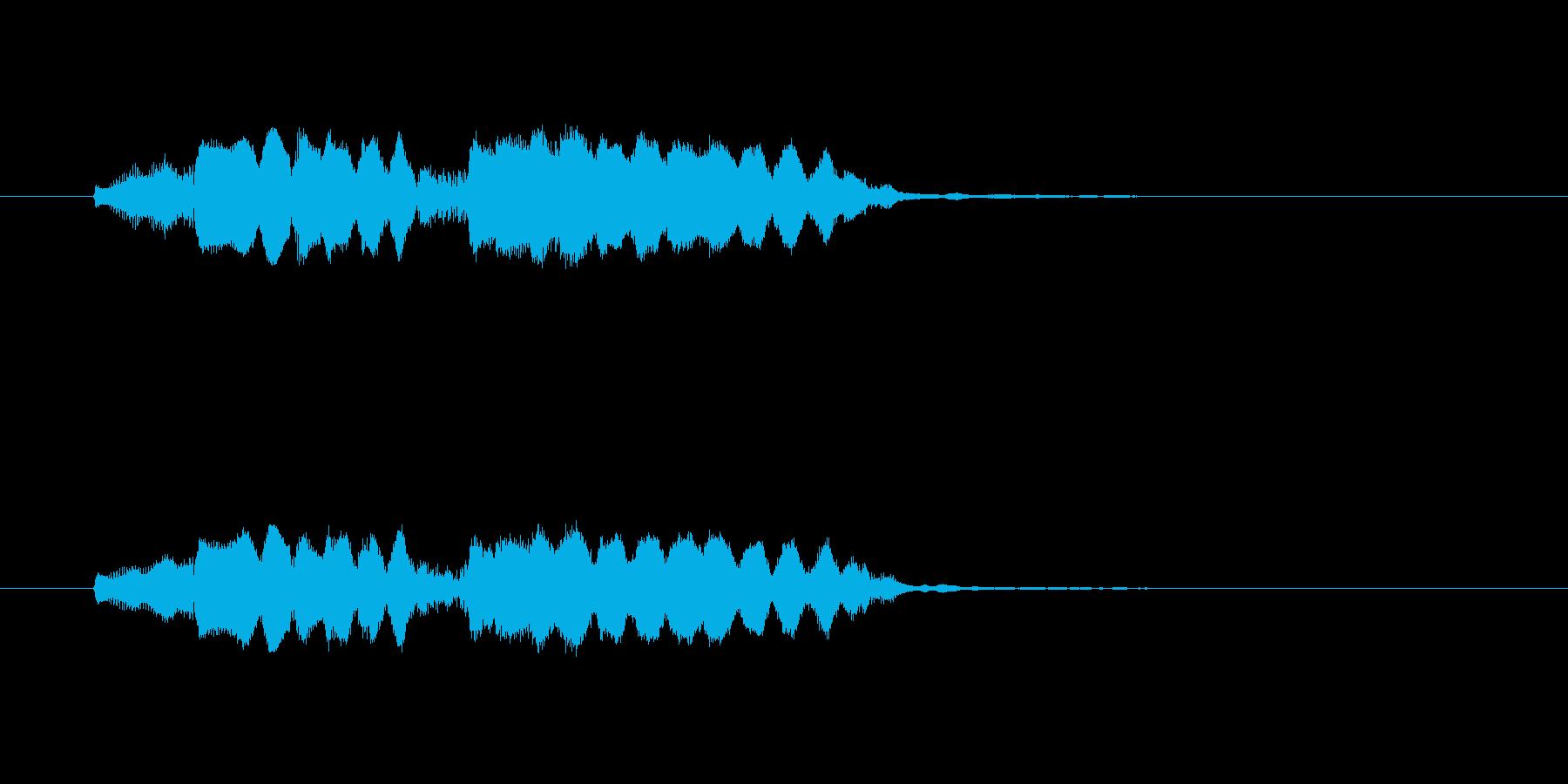 フォロロッロ~(爽やかなフルート)の再生済みの波形
