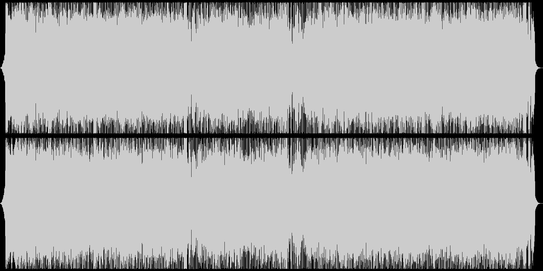 【ショートver】疾走感☆ギターインストの未再生の波形