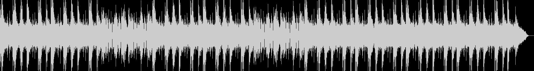 長めアンビエントバンドループBPM118の未再生の波形