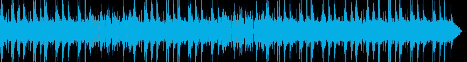 長めアンビエントバンドループBPM118の再生済みの波形