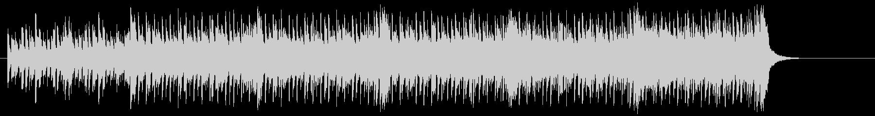 ファンタジックなテクノ/ポップの未再生の波形