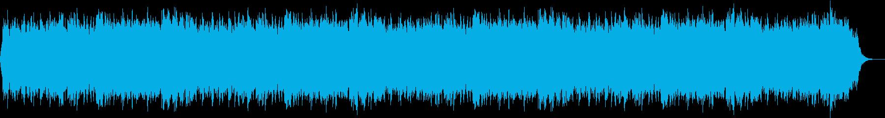 カウンセリングに最適なBGMの再生済みの波形