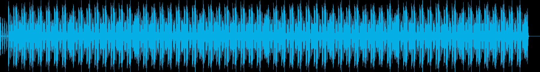 サイファービート7の再生済みの波形