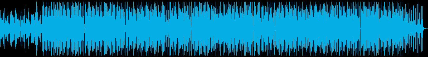 お洒落なフィルターハウスの再生済みの波形