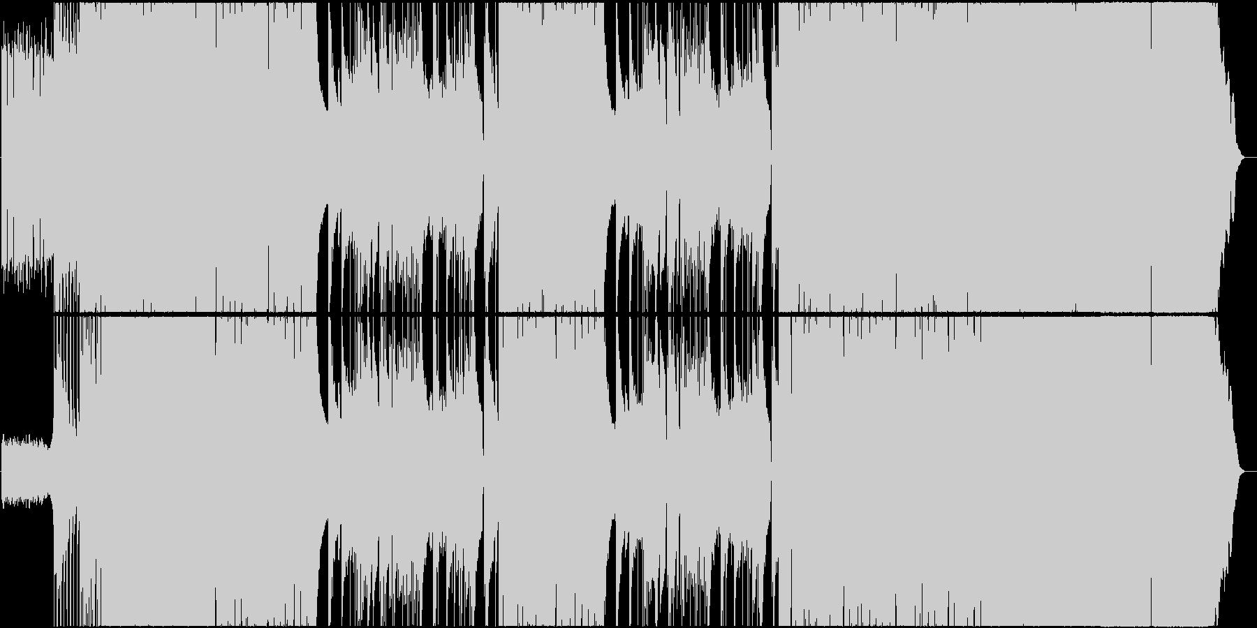 ブルース パンク メタル カントリ...の未再生の波形