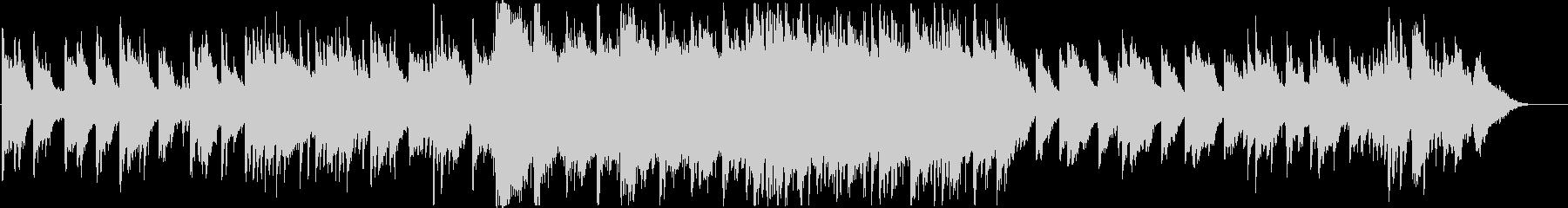 森の中に迷い込んだ幻想的ピアノバラードの未再生の波形