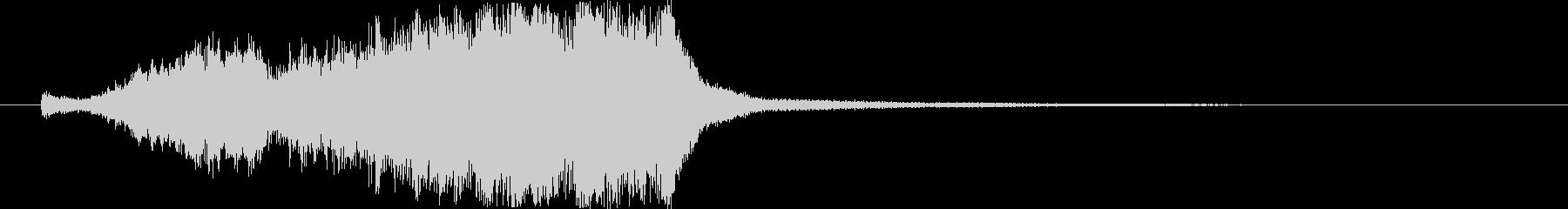 トランジション 鋭い 16 の未再生の波形