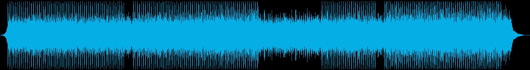 コーポレートビデオの再生済みの波形