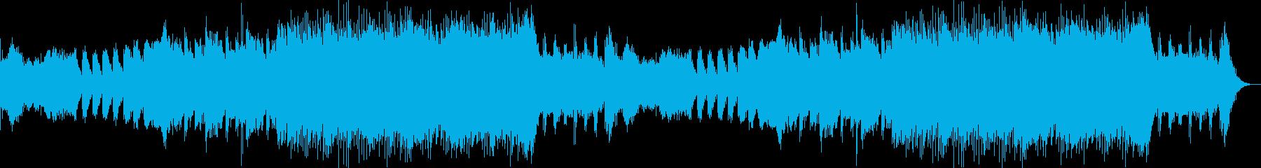 重厚感のある壮大な恐怖、ホラー系BGMの再生済みの波形