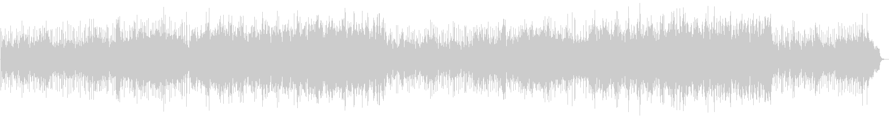 キラキラした音色がかわいいポップスの未再生の波形