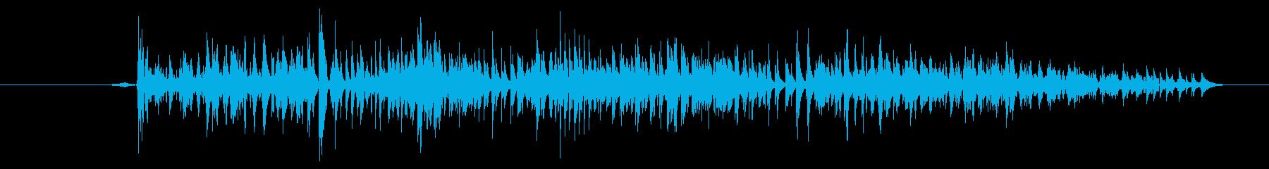 モンスター 窒息ゾンビ01の再生済みの波形