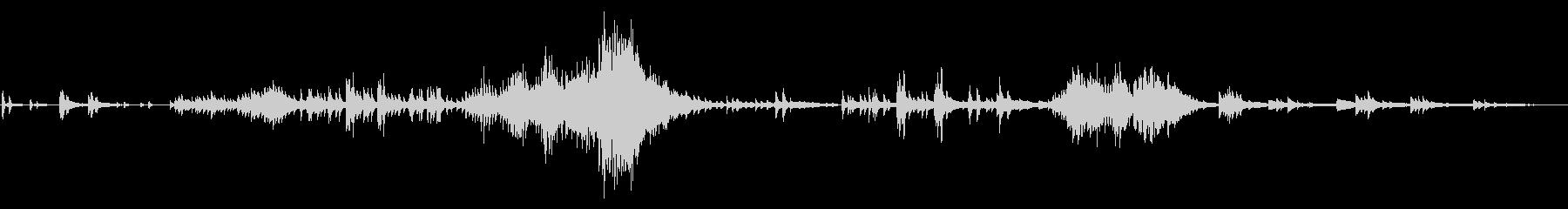 ラヴェル ピアノ組曲 - (鏡) 鳥の未再生の波形
