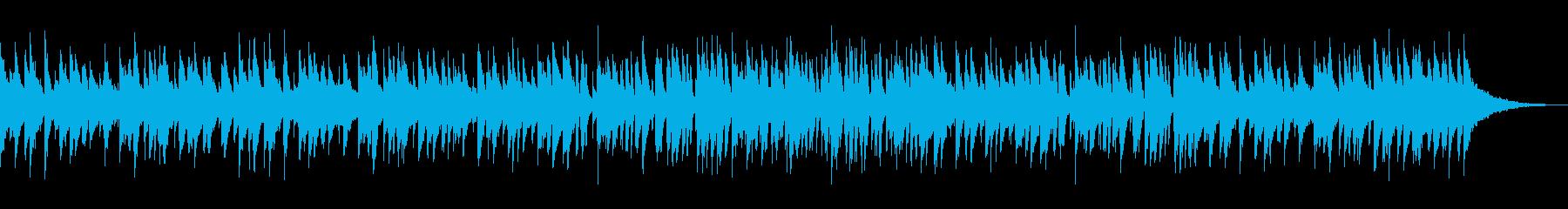 可愛らしいピアノトリオのジャズワルツですの再生済みの波形
