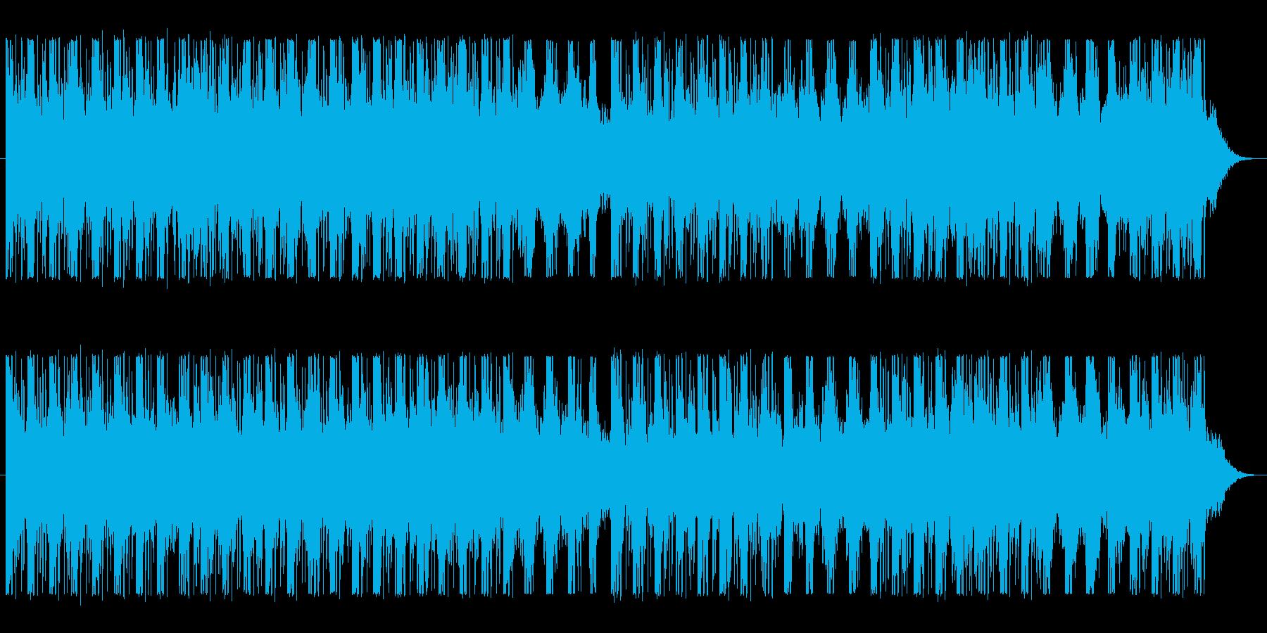テクノ風。その1の再生済みの波形