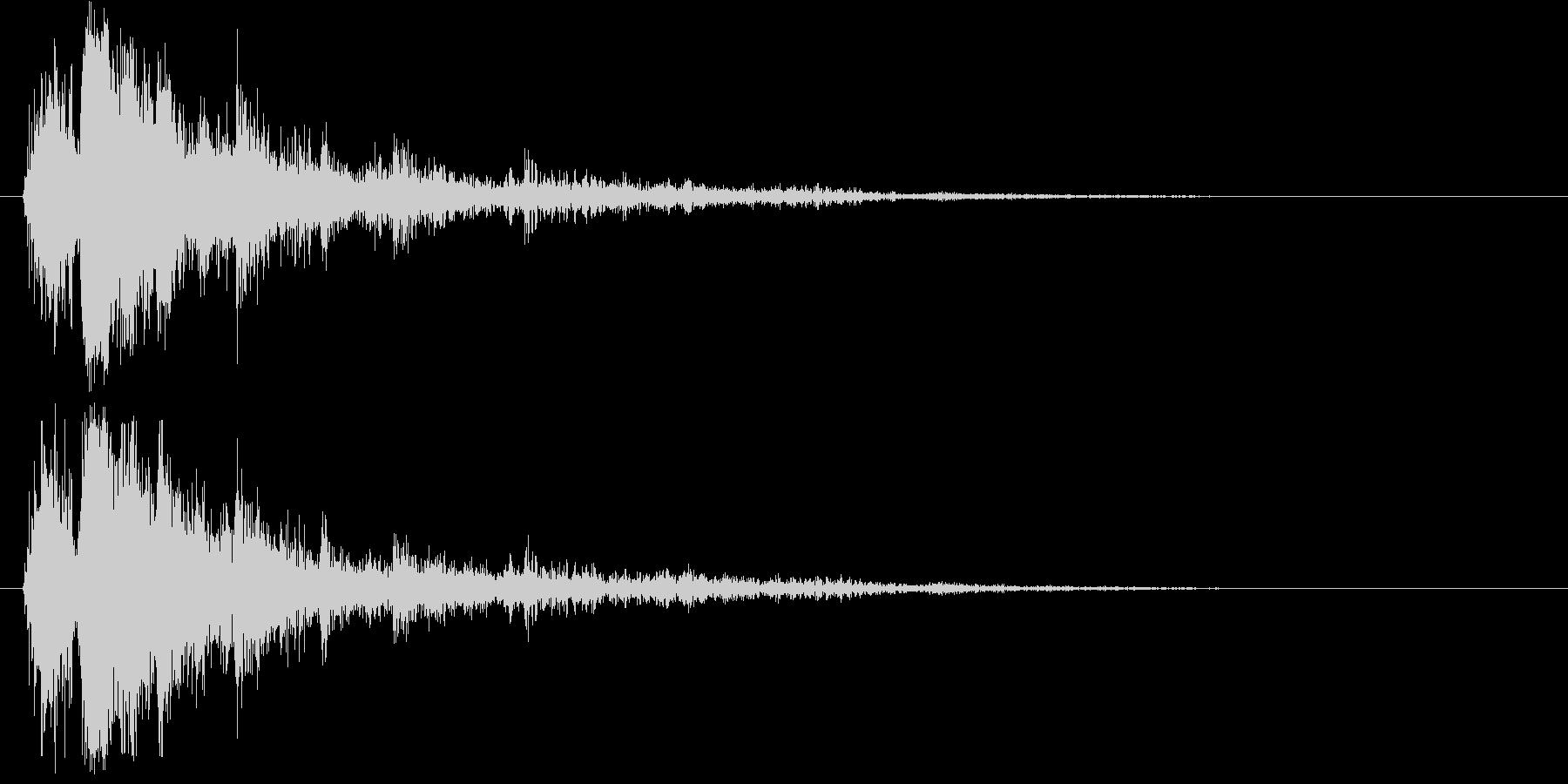サンダークラップ1-ヘビークラック...の未再生の波形