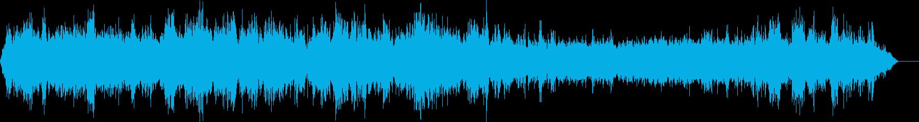 カウベルの再生済みの波形