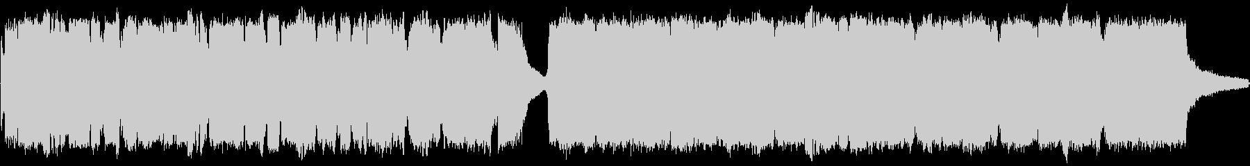 和風で格式高いBGMの未再生の波形