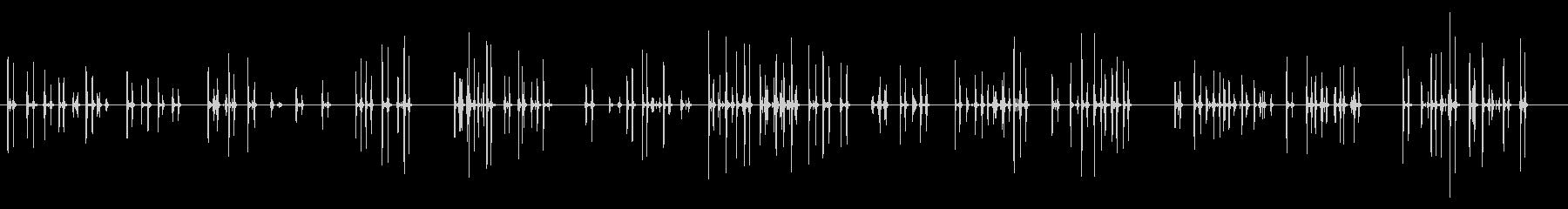 PC キーボード04-01(中)の未再生の波形