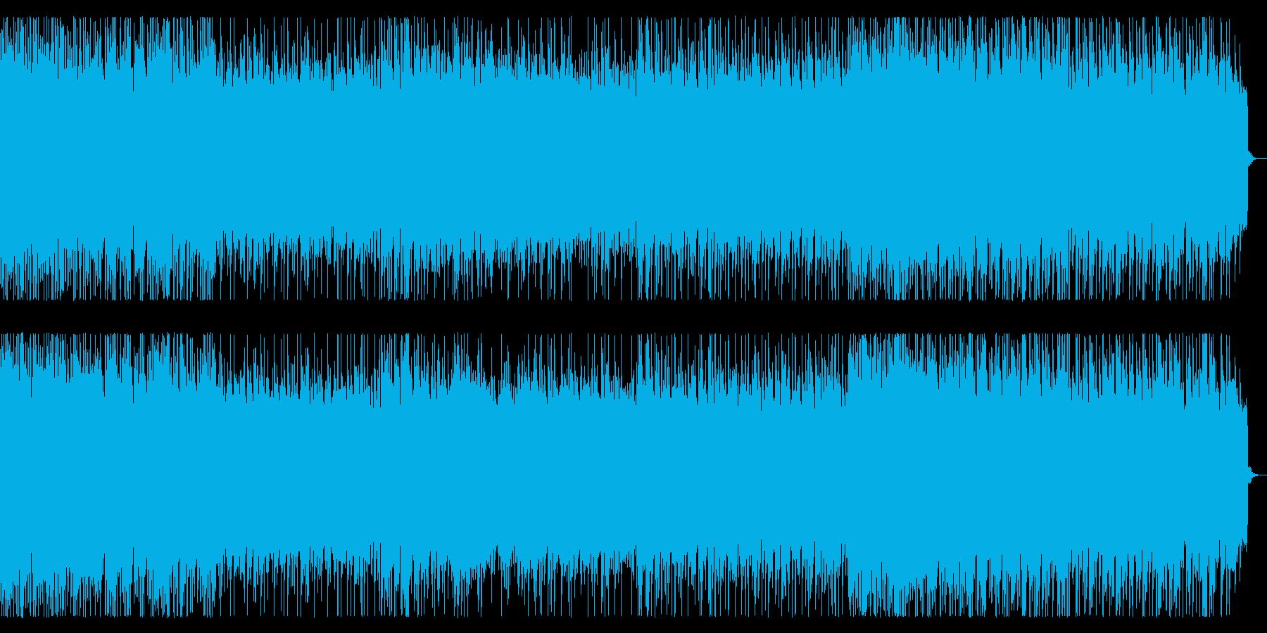 戦闘シーン向けリフ主体のメタル 戦闘曲の再生済みの波形