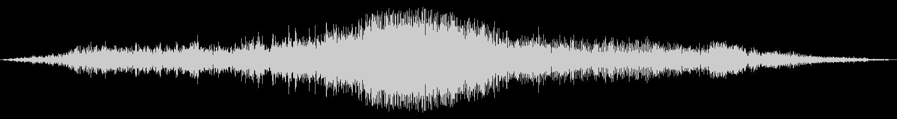 ブーン(車輌の通過する音)の未再生の波形