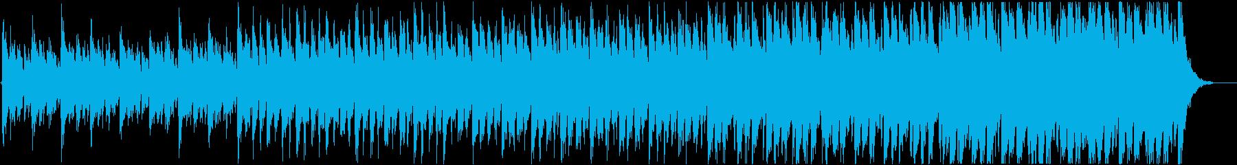 緊迫感のあるシネマティック(テンポ遅め)の再生済みの波形