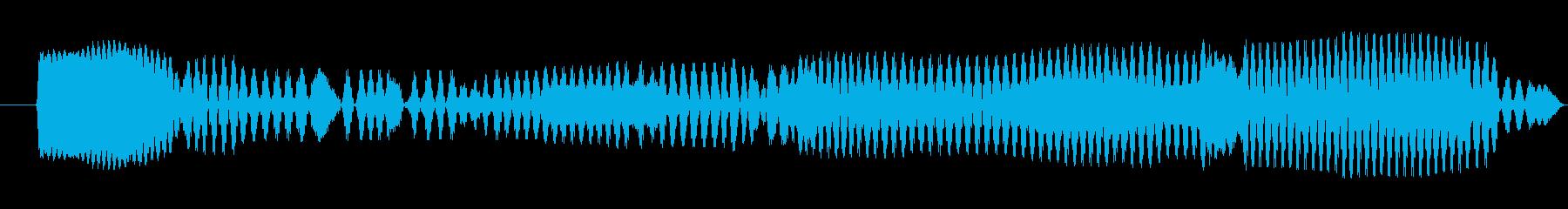 ギュ〜(お腹を下した音)の再生済みの波形