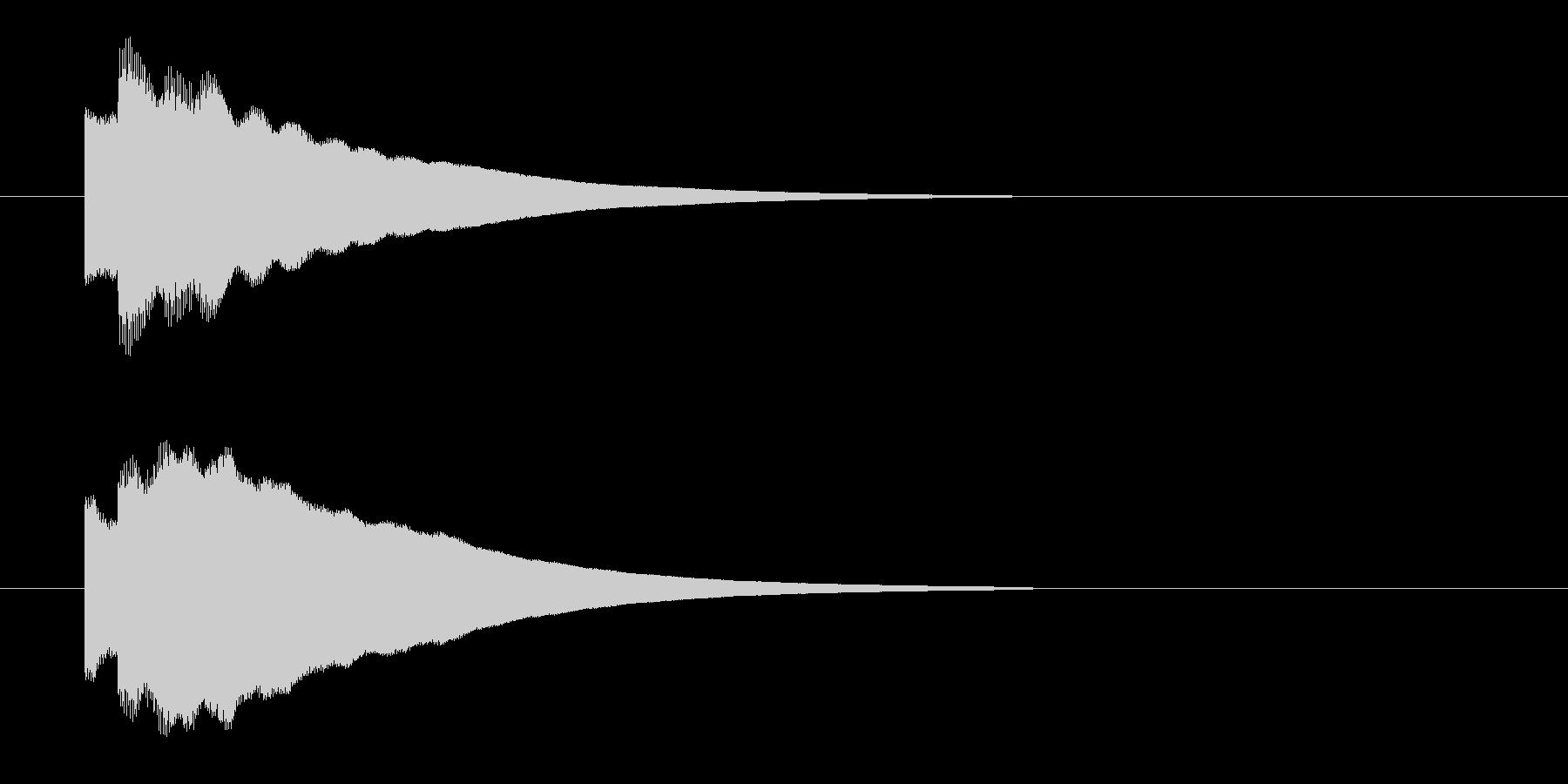 キラーンの未再生の波形