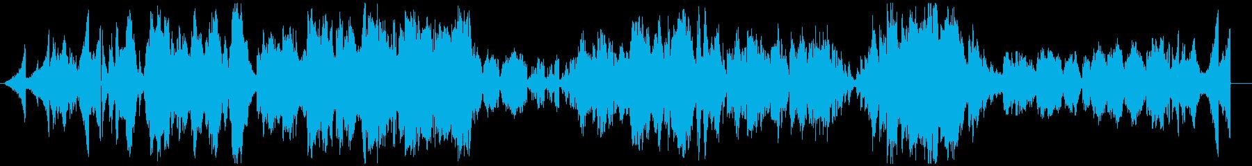 ピアノノイズです。ピアノ楽曲ではありま…の再生済みの波形