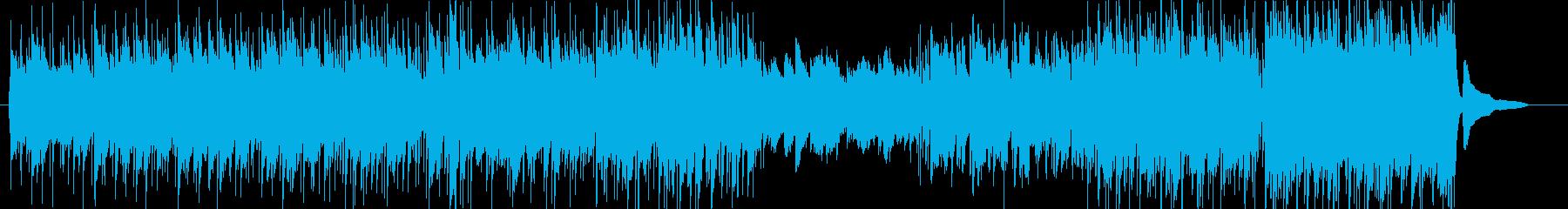 ファンタジーRPG・草原の爽やかなケルトの再生済みの波形