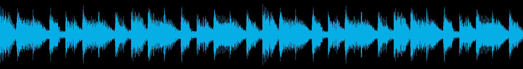 Burn ダークなテックハウス ループ可の再生済みの波形