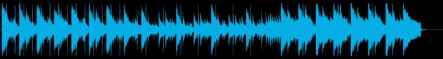 ピアノ主体のほのぼの料理番組的BGMの再生済みの波形