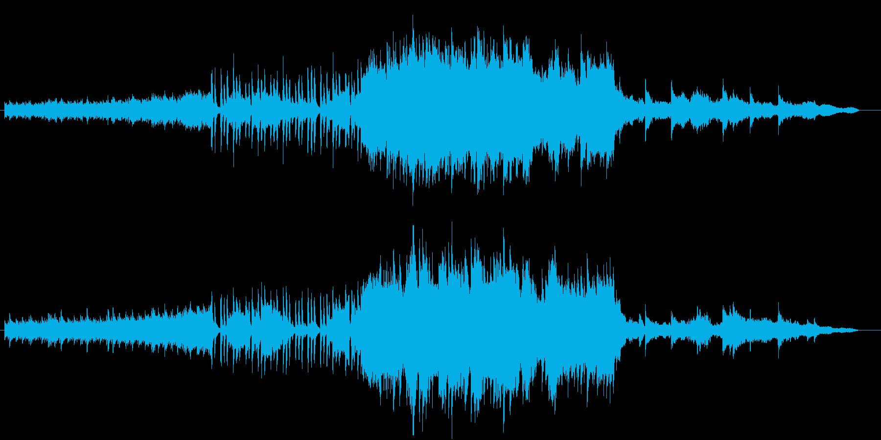 ピアノとオーケストラ感動的BGM春っぽいの再生済みの波形