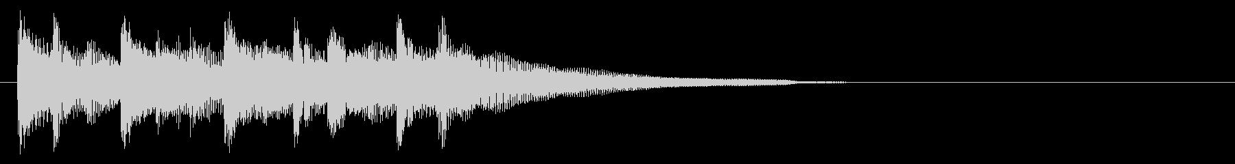 ギターの優しい雰囲気のアイキャッチの未再生の波形