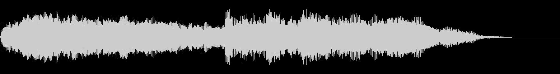 メローオーケストラアクセント4の未再生の波形