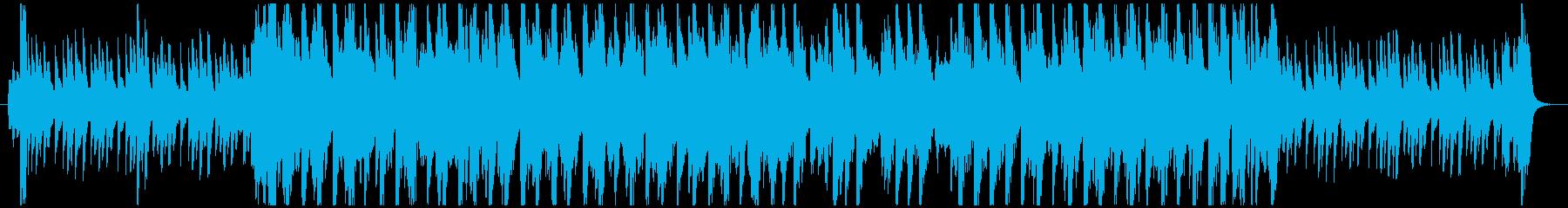真夏をイメージしたアップテンポなボサノバの再生済みの波形