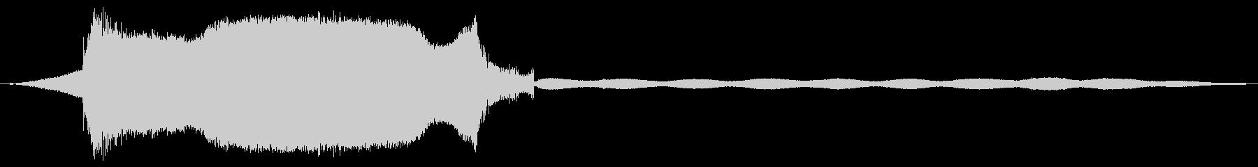 ノイズ出力のあるハードホワイトノイズの未再生の波形