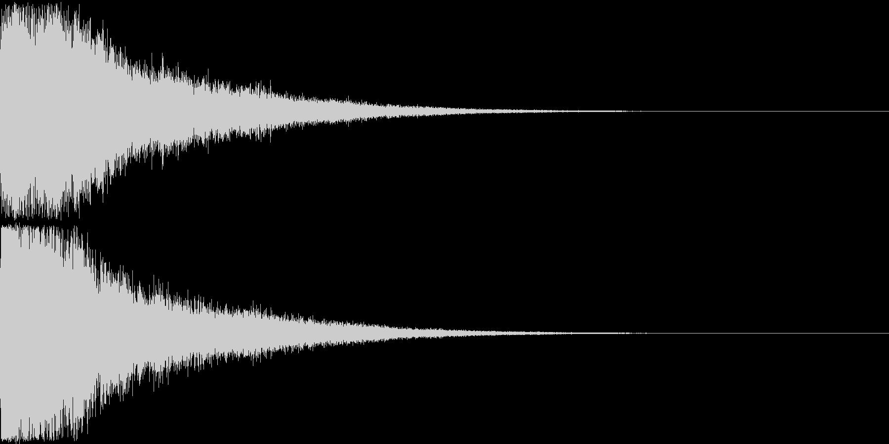 刀 剣 ソード カキーン キュイーン30の未再生の波形