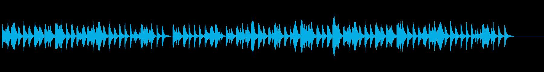 マリンバソロでとぼけた雰囲気の再生済みの波形