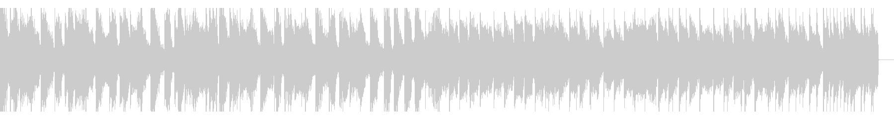 動画向けループ用のエレクトロハウスの未再生の波形
