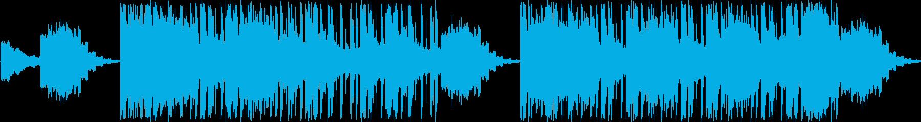 着信音のイントロ。エニグマの再生済みの波形