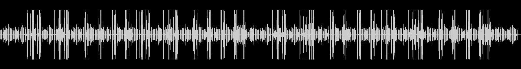 ほのぼのした生活の木琴とリコーダーの未再生の波形
