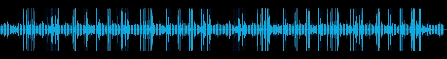 ほのぼのした生活の木琴とリコーダーの再生済みの波形
