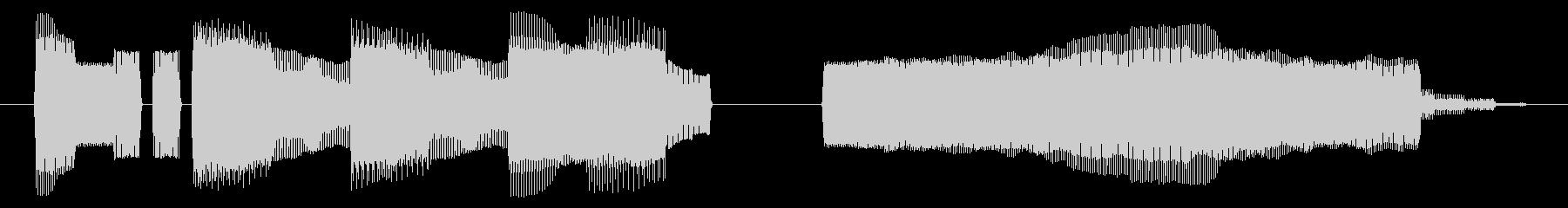 NES 和風 A06-4(ゲームオーバーの未再生の波形