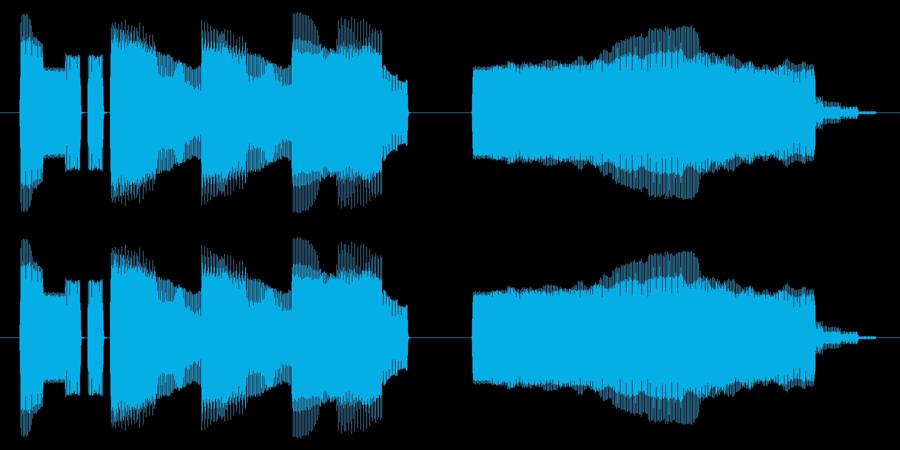 NES 和風 A06-4(ゲームオーバーの再生済みの波形