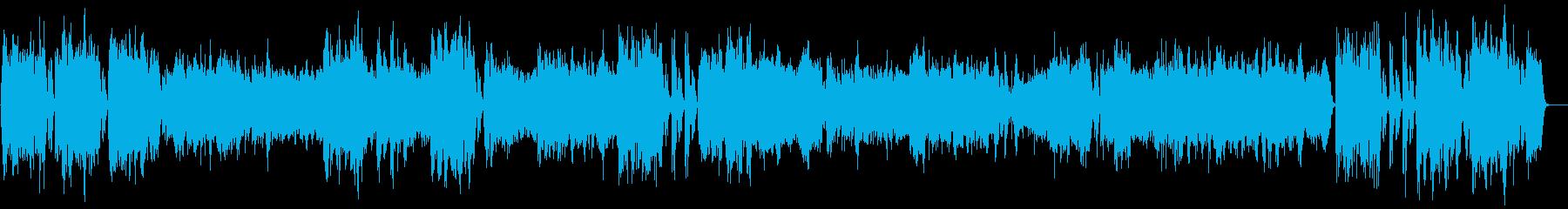 かっこいいバロック式ヴァイオリン協奏曲の再生済みの波形