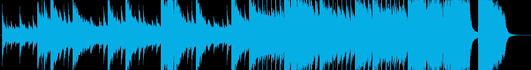 映像、CMに何かが始まる予感ピアノオケの再生済みの波形